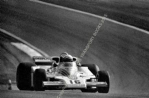 Shadow DN8 Riccardo Patrese, French GP 1977 action photo